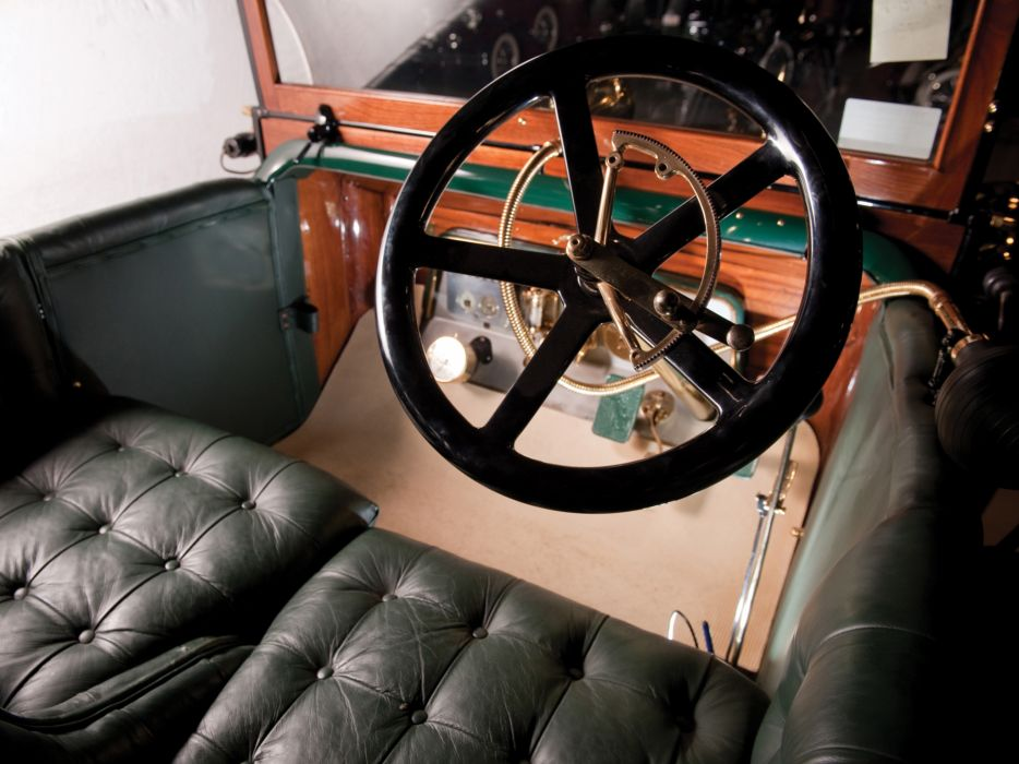 1911 Daimler 6-23 Phaeton Touring retro interior        g wallpaper