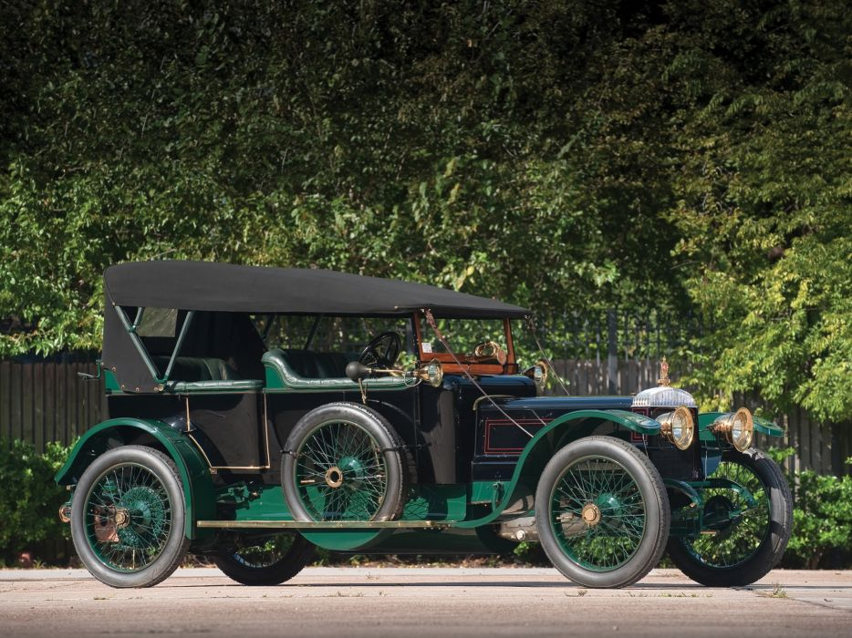 1911 Daimler 6-23 Phaeton Touring retro wallpaper