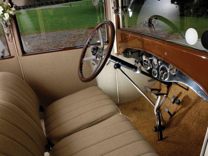1924 Hudson Super Six Coach luxury interior g wallpaper