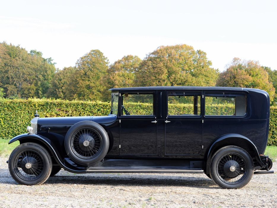 1926 Daimler 35-120 Limousine by Hooper retro luxury   d wallpaper