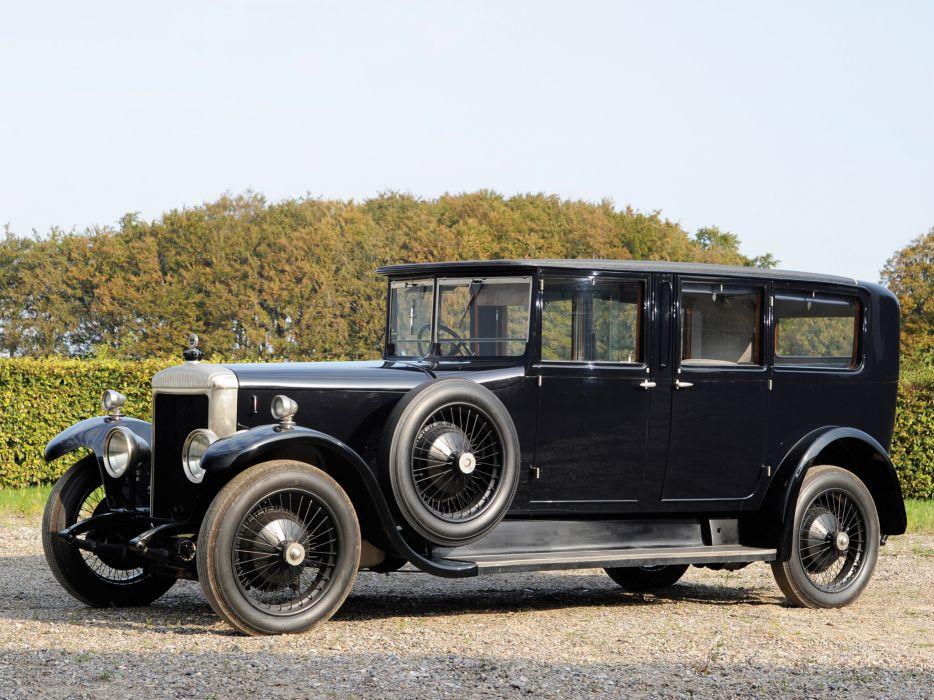 1926 Daimler 35-120 Limousine by Hooper retro luxury wallpaper