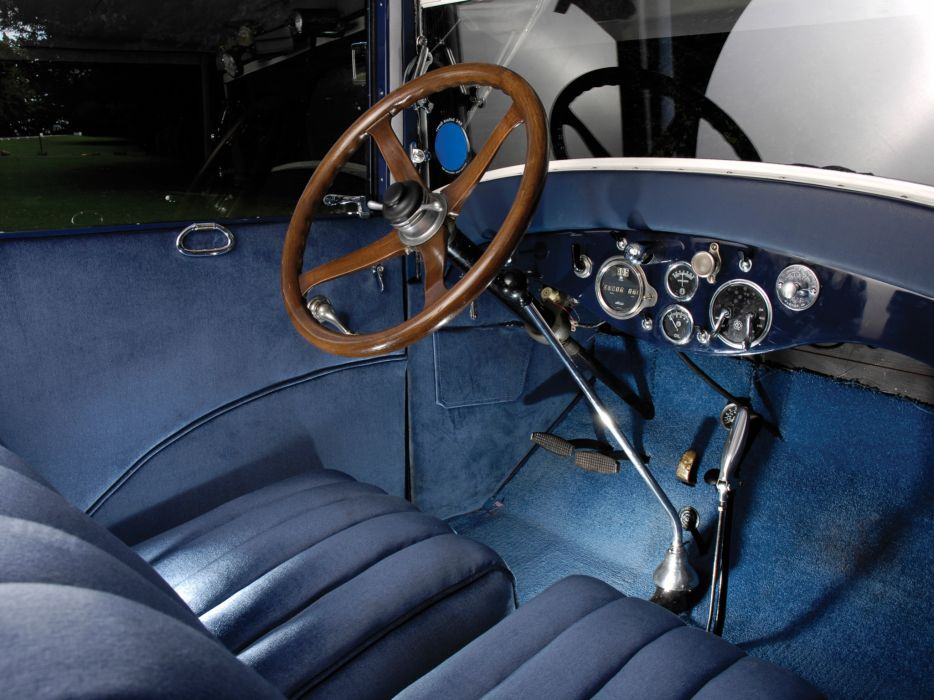1926 Hudson Super Six Brougham retro luxury interior      r wallpaper