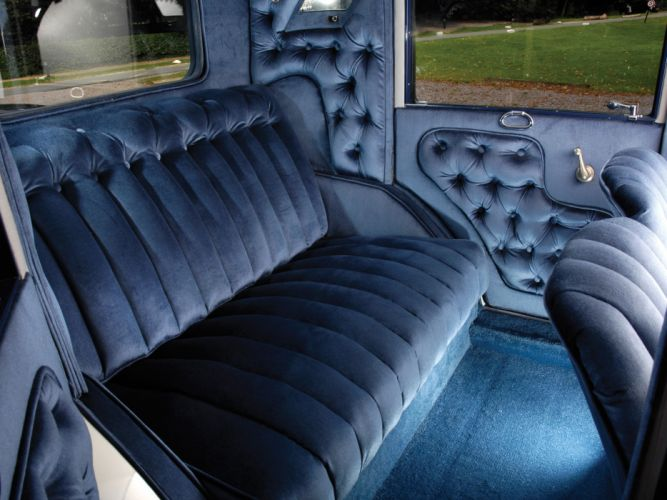 1926 Hudson Super Six Brougham retro luxury interior g wallpaper