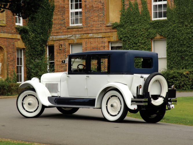 1926 Hudson Super Six Brougham retro luxury g wallpaper