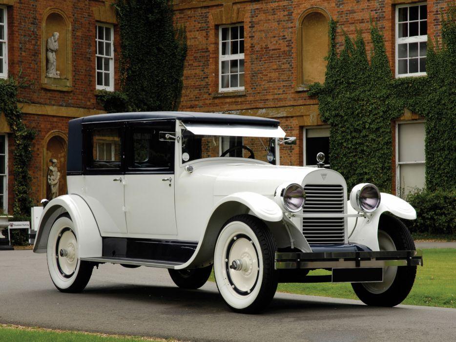 1926 Hudson Super Six Brougham retro luxury wallpaper