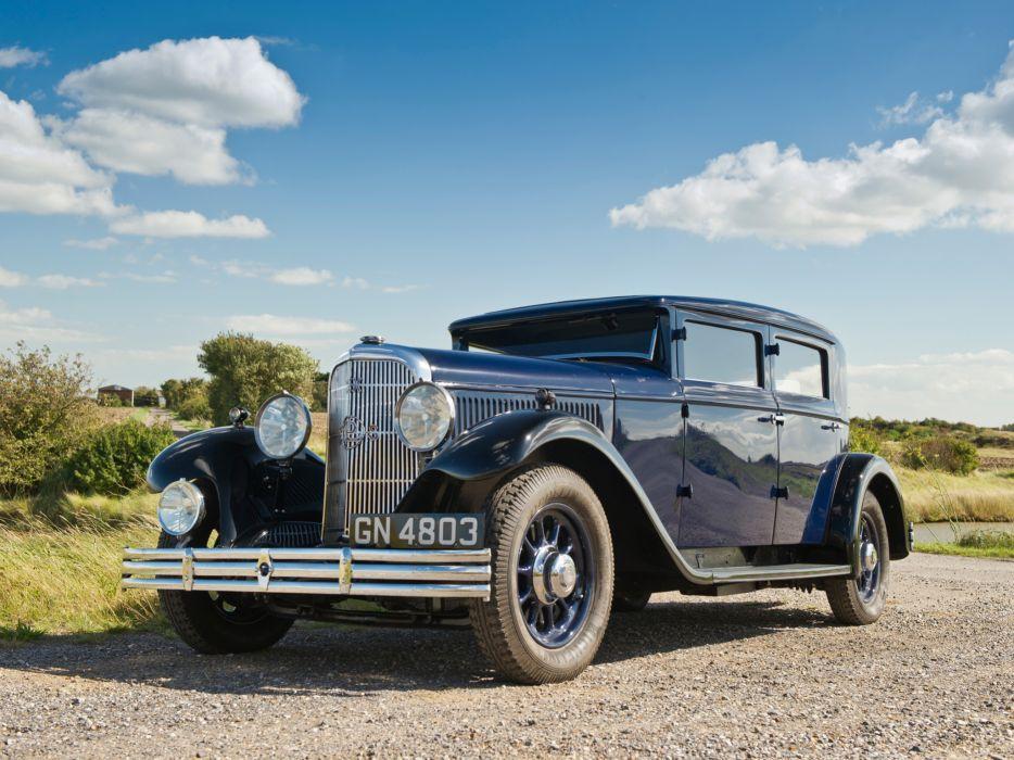 1930 Panhard Levassor 6DS Berline X66 20 CV retro    g wallpaper