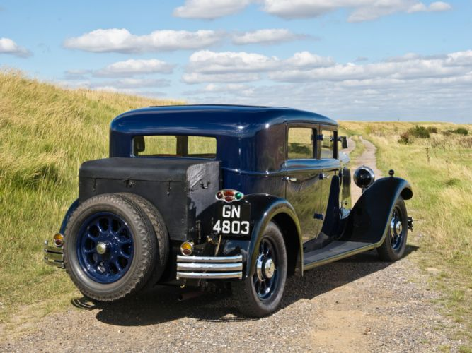 1930 Panhard Levassor 6DS Berline X66 20 CV retro fd wallpaper