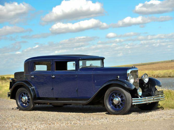 1930 Panhard Levassor 6DS Berline X66 20 CV retro wallpaper