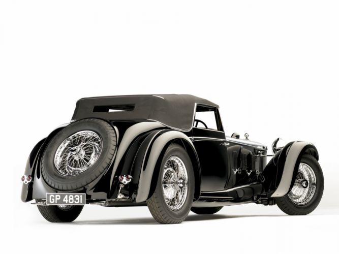 1931 Daimler Double Six 50 Sport Corsica Drophead Coupe retro f wallpaper