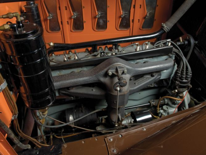 1931 Hudson Greater Eight Sport Roadster Series-T retro engine g wallpaper