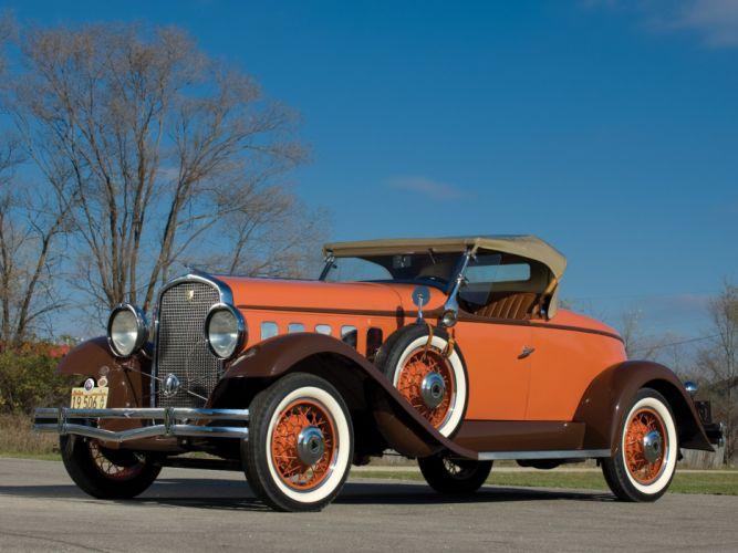1931 Hudson Greater Eight Sport Roadster Series-T retro wallpaper