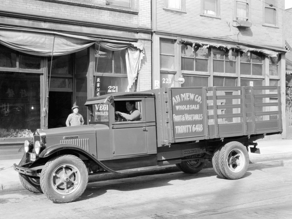 1932 International A5 semi tractor retro a-5   f wallpaper
