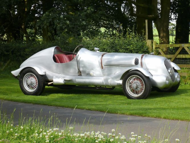 1937 Daimler V26 2-seater race racing retro f wallpaper