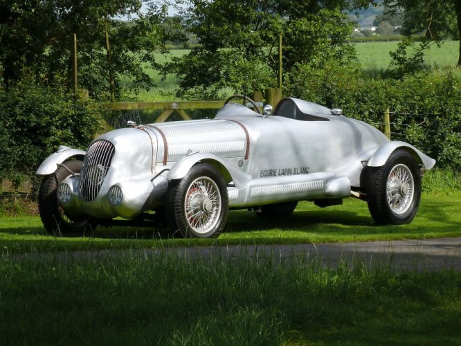 1937 Daimler V26 2-seater race racing retro wallpaper