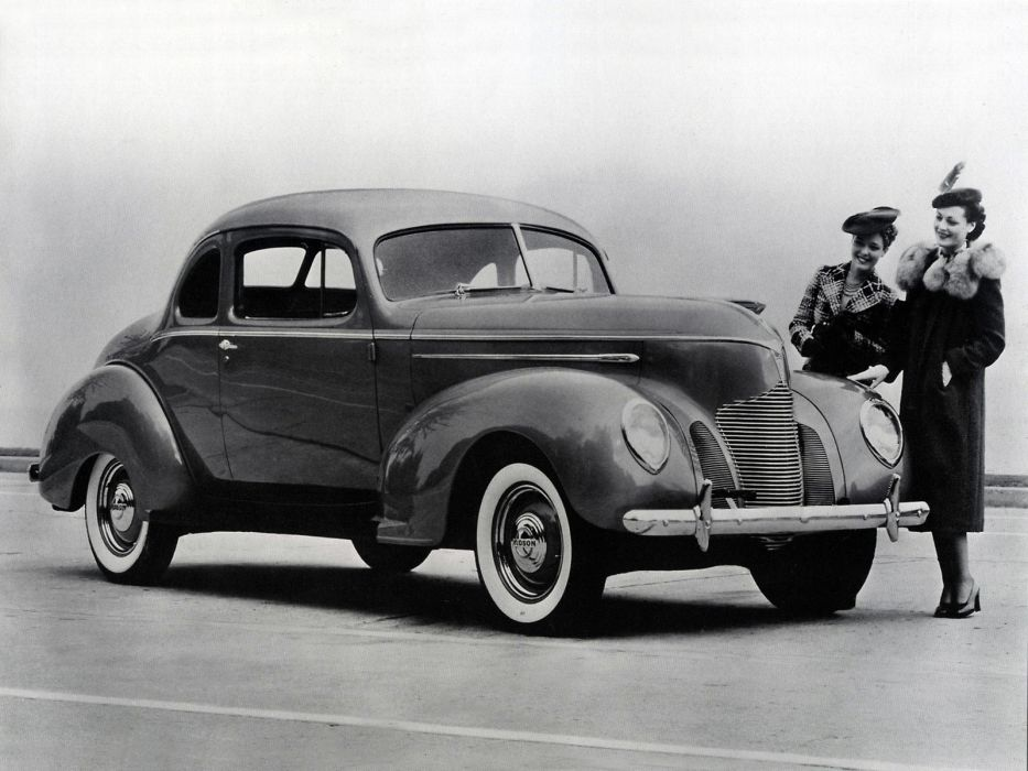 1939 Hudson Deluxe Six Coupe Series-90 retro wallpaper