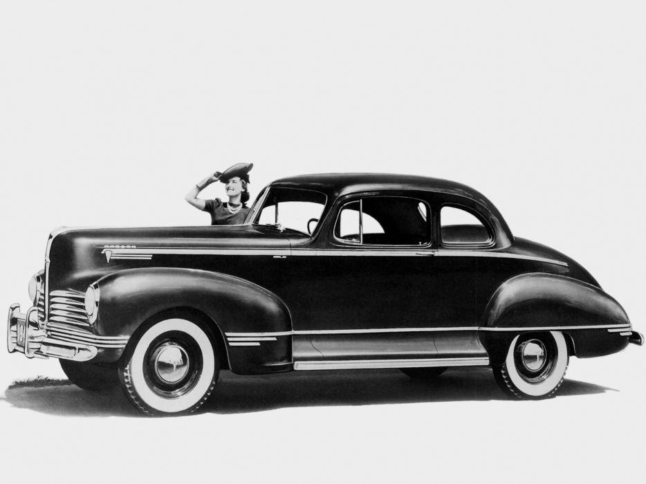 1942 Hudson Super Six Club Coupe Series-21 retro wallpaper