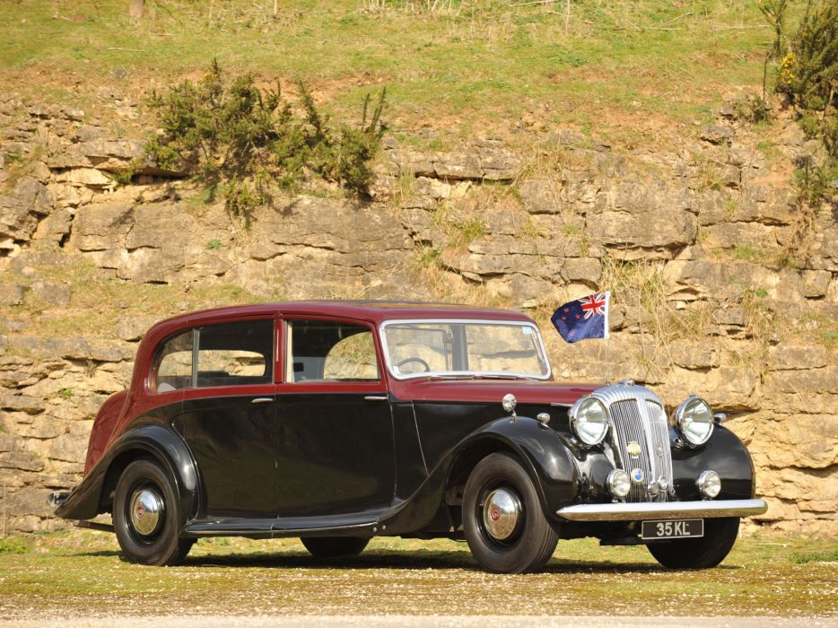 1946 Daimler DH27 Limousine by Hooper retro luxury  f wallpaper
