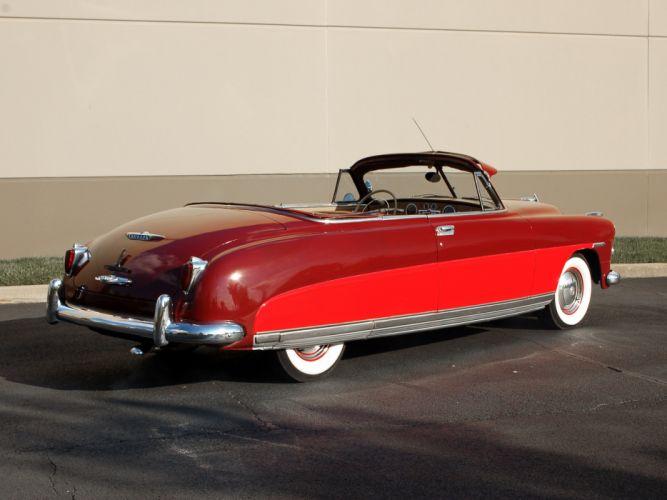 1949 Hudson Commodore Convertible retro luxury wallpaper
