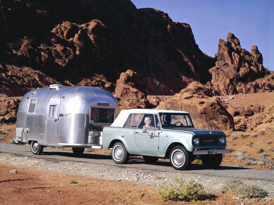 1965 International Scout 800 4x4 suv classic wallpaper