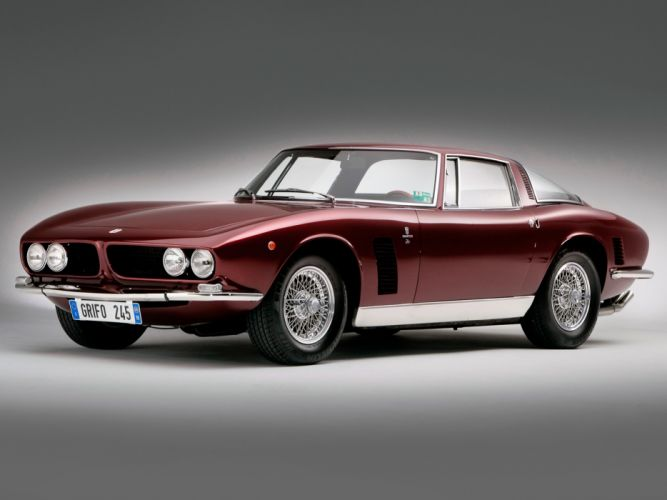 1965 Iso Grifo supercar classic wallpaper