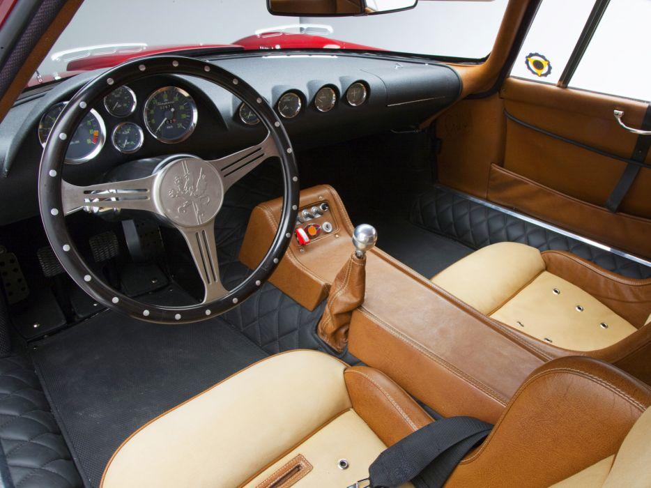 1965 Iso Rivolta Daytona race racing supercar interior               f wallpaper