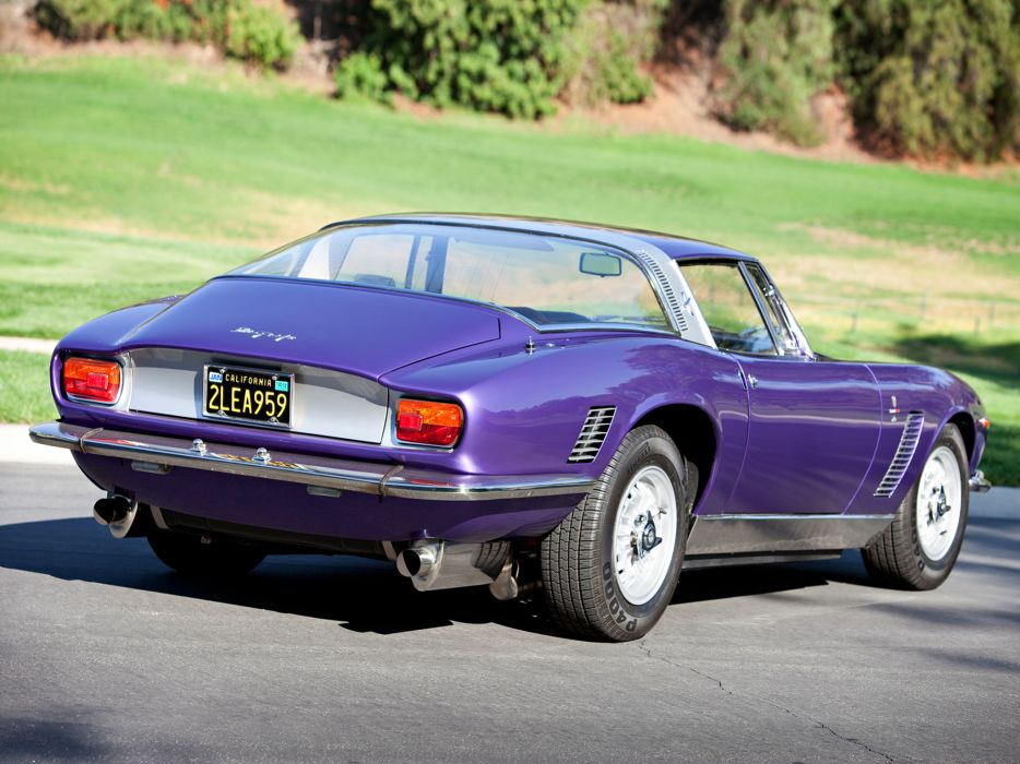 1968 Iso Grifo 7 Litri supercar classic muscle    d wallpaper