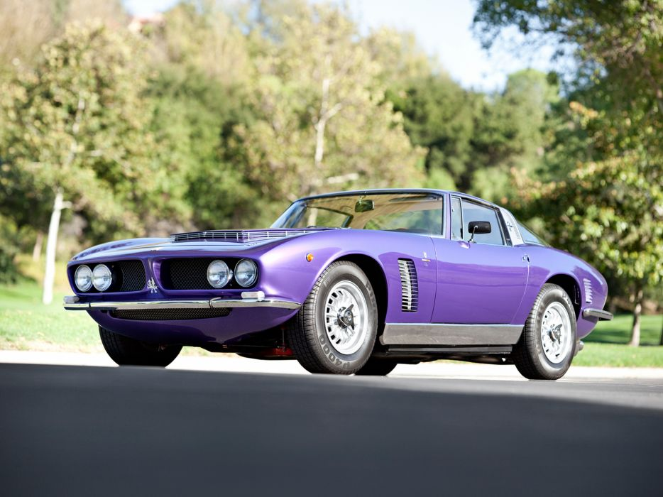 1968 Iso Grifo 7 Litri supercar classic muscle wallpaper