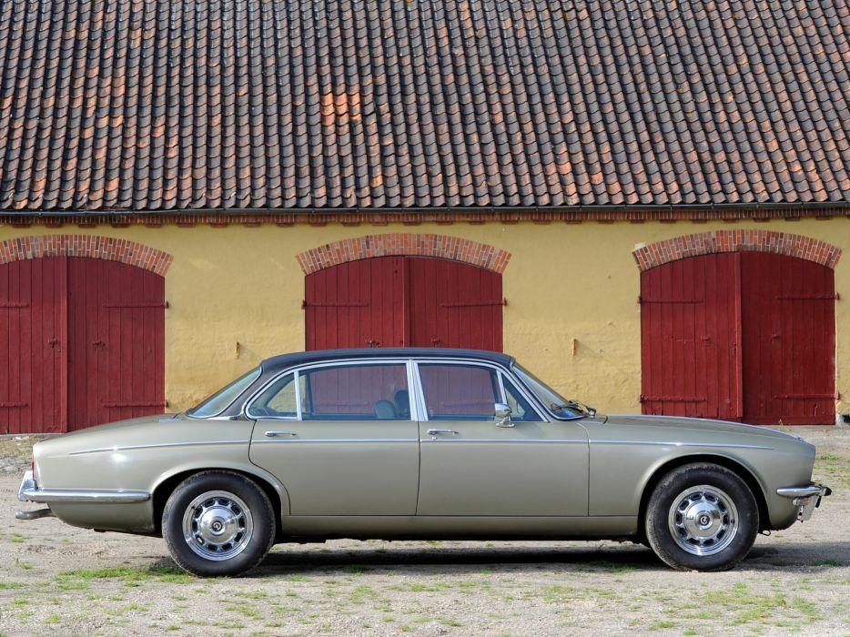 1973 Daimler Double Six Vanden Plas luxury classic    g wallpaper