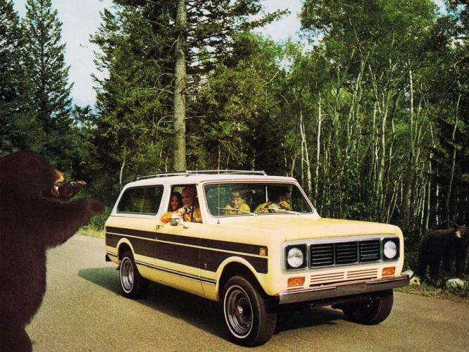1976 International Scout Traveler 4x4 wallpaper