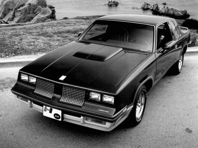 1983 Hurst Oldsmobile Cutlass Calais 15th Anniversary muscle wallpaper