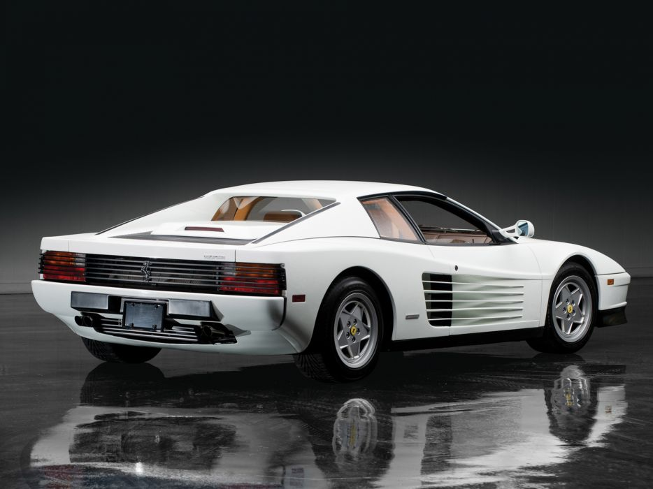 1984 Ferrari Testarossa supercar    f wallpaper