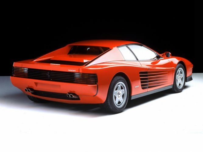 1984 Ferrari Testarossa supercar f wallpaper