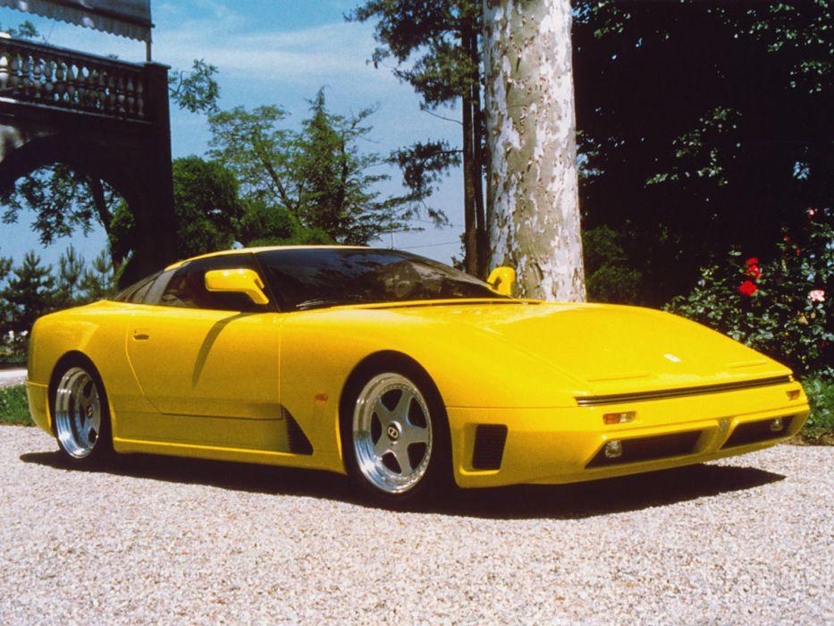 1991 Iso Grifo 90 supercar 9-0    f wallpaper