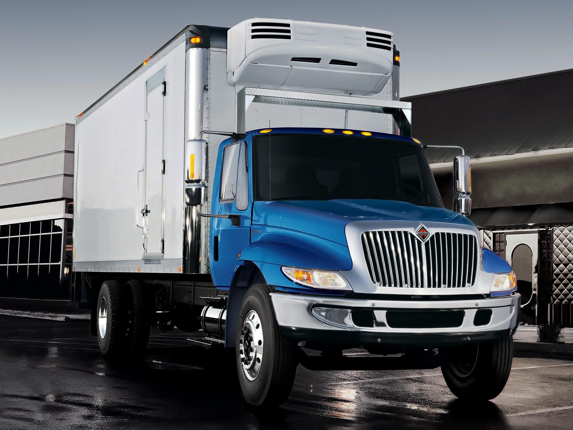 International 4300 Tractor : International durastar semi tractor h wallpaper