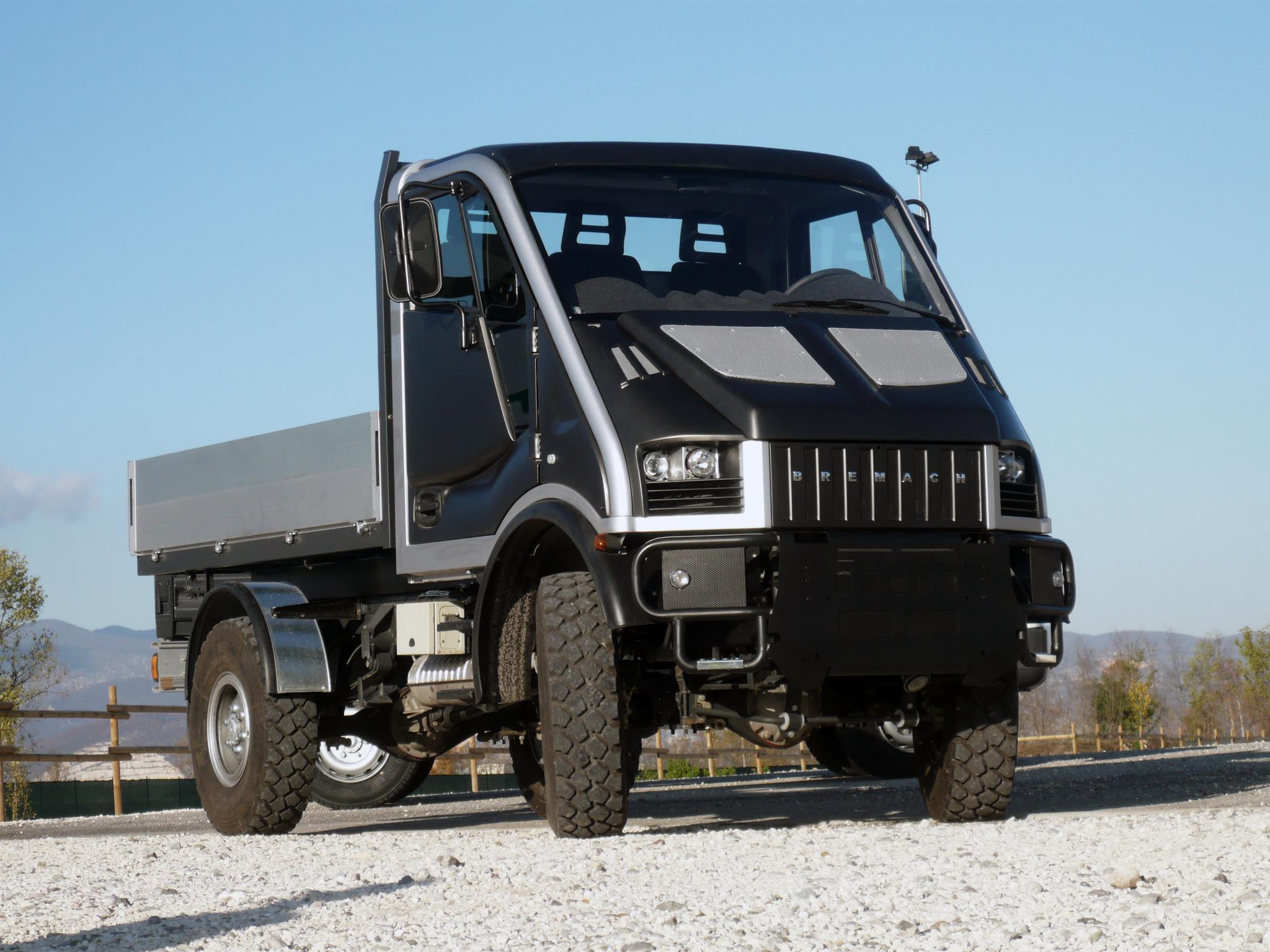 2007 bremach t rex prototype 4x4 semi tractor wallpaper for Bremach 4x4 usato