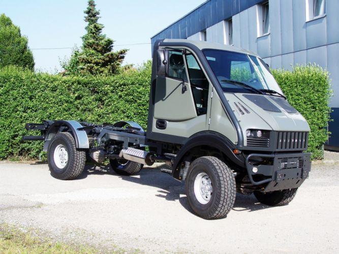 2008 Bremach T-Rex semi tractor 4x4 d wallpaper
