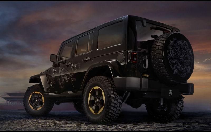 2012 Jeep Wrangler Dragon Edition 4x4 Concept fq wallpaper