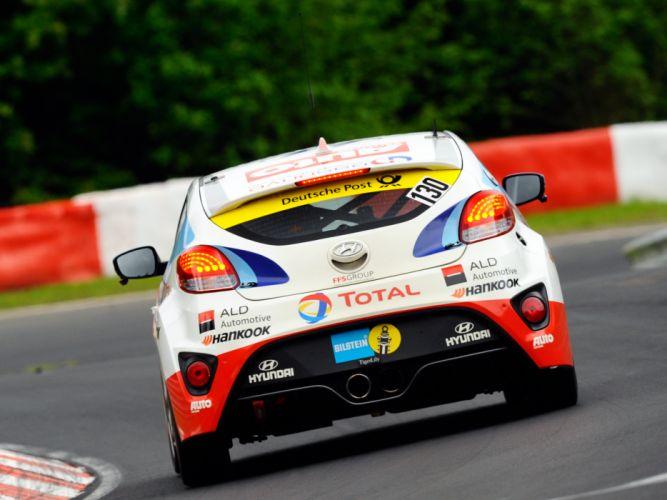 2013 Hyundai Veloster Turbo 24 Hour Nurburgring race racing f wallpaper
