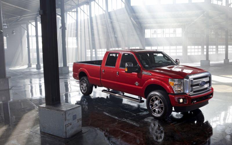 2014 Ford F-Series Super Duty pickup h wallpaper