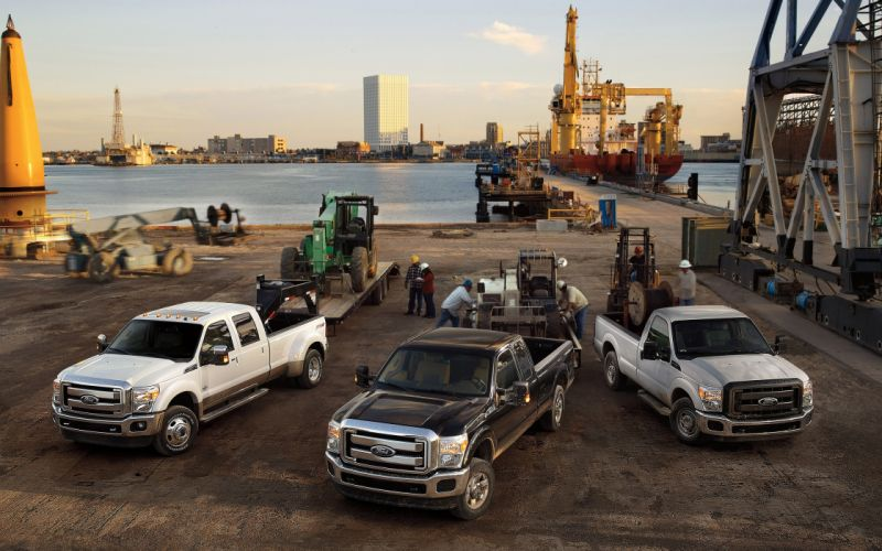 2014 Ford F-Series Super Duty pickup jy wallpaper