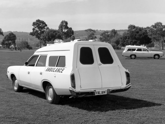1971 Chrysler Valiant Ranger Ambulance classic emergency stationwagon g wallpaper