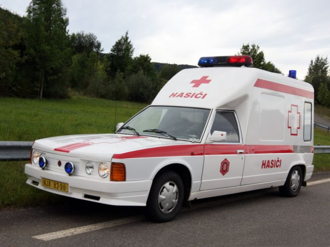 1991 Tatra T613-4 RZP Ambulance emergency wallpaper