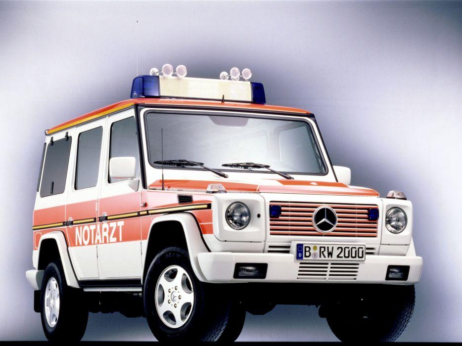 1993 Mercedes Benz G-Klasse Notarzt W463 ambulance emergency suv 4x4 wallpaper