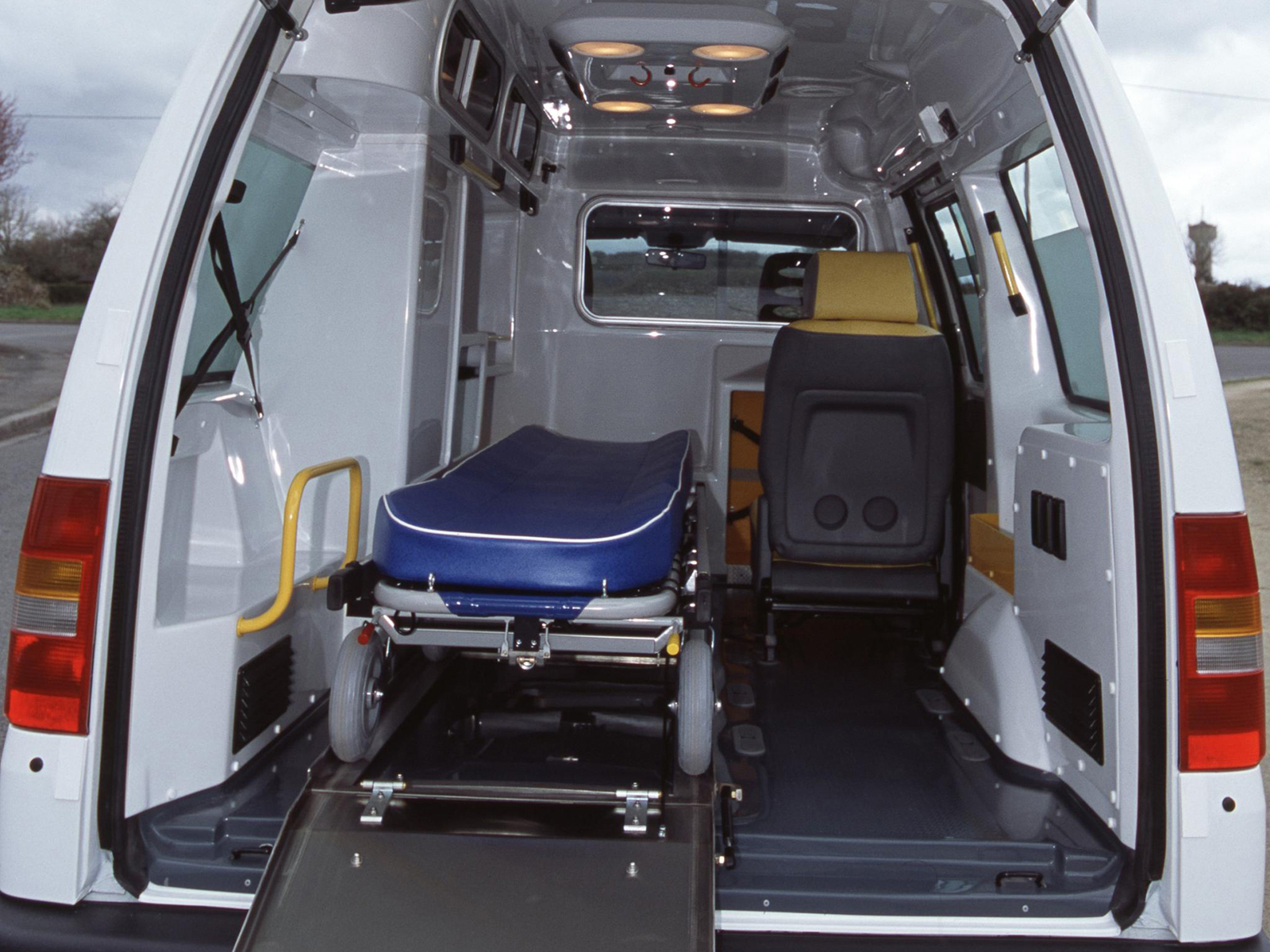 1995 Citroen Jumpy Ambulance Emergency Van Interior G