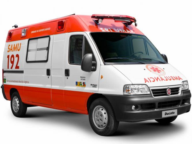 2002 Fiat Ducato Ambulance emergency wallpaper