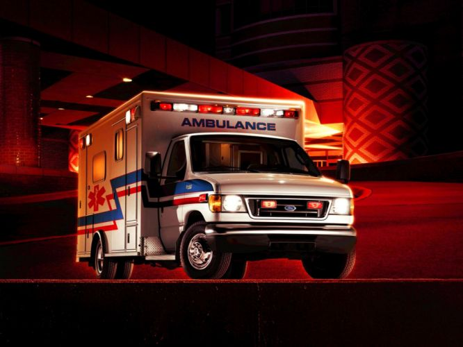 2003 Ford E-450 Ambulance emergency wallpaper