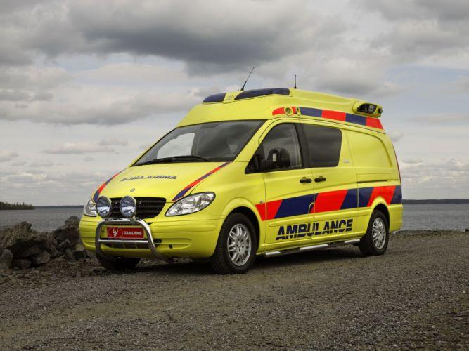 2003 Tamlans Mercedes Benz Vito Ambulance W639 emergency wallpaper