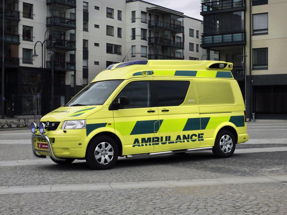 2004 Tamlans Volkswagen T5 Ambulance emergency   g wallpaper