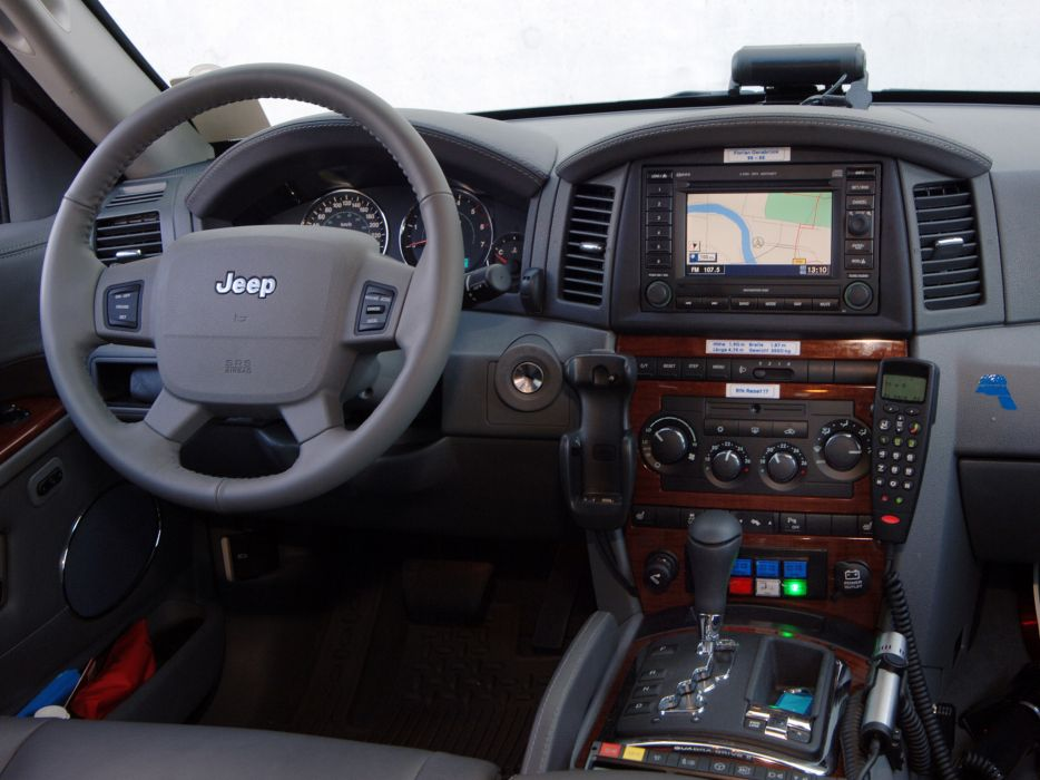 2005 jeep grand cherokee notarzt wk emergency ambulance for Interieur jeep grand cherokee 2000