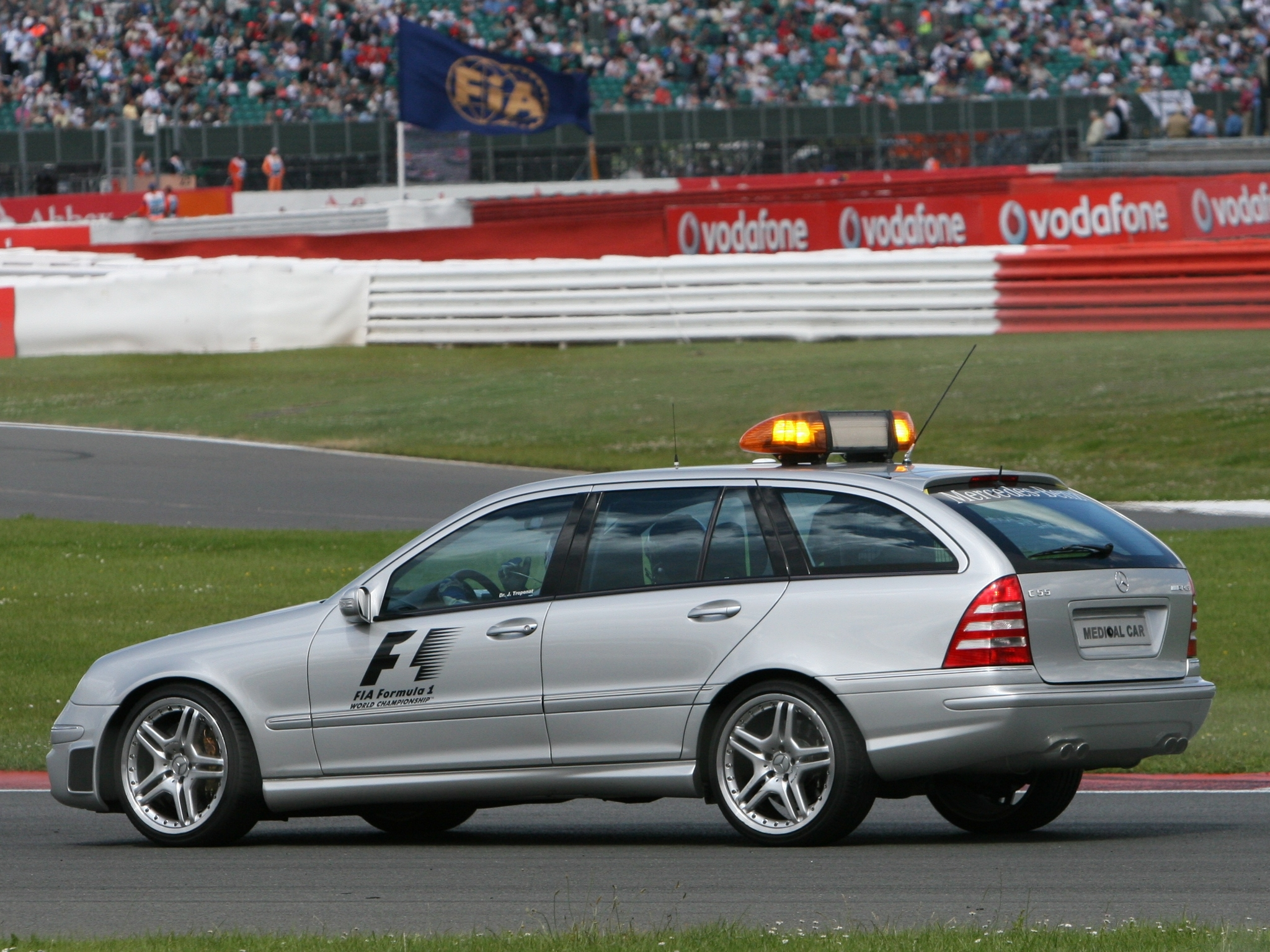 2005 Mercedes Benz C55 Amg Estate F 1 Medical Car S203